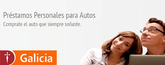 prestamo personal banco galicia