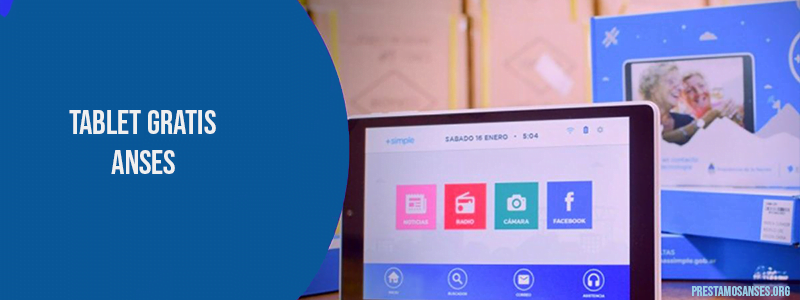anotate en la tablet gratis de anses para jubilados