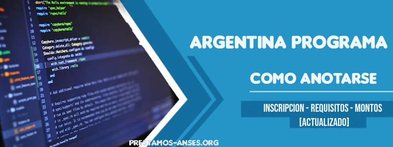 argentina programa anotarse